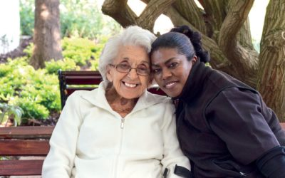 How can companion care help someone with dementia?